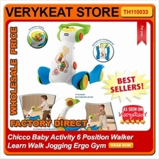 Chicco Baby Activity 6 Position Walker Learn Walk Jogging Ergo Gym