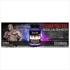 Ultimate GABA 90Caps (GH Booster , Muscle, Sizing, Otot Naik,stanabol)