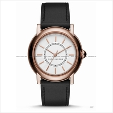 MARC BY MARC JACOBS MJ1450 Courtney Classic 3-hand Leather Strap Black