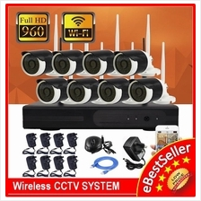 960P Wireless Wifi CCTV System NVR Recorder HD 1.3MP IPC CCTV Camera