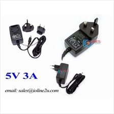 CUI 230V AC to 5V DC 3A 3000mA Switching Power supply adapter LED CCTV Fiber I