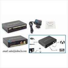 HDMI Audio Splitter Extractor Optical SPDIF Toslink+Stereo RCA Analog Outputs