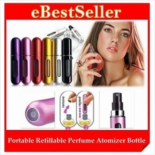 Mini Portable Refillable Perfume Atomizer Bottle Spray for Travel