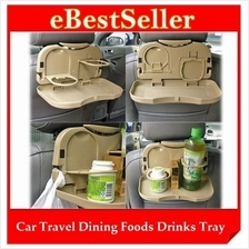 Car Vehicles Multipurpose Foldable Foods Drink Travel Dining Tray
