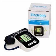 Digital Blood Pressure LCD Monitor & Heart Beat Meter