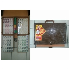 4 Person Poker Mahjong Set + Chips (High Quality) RM200