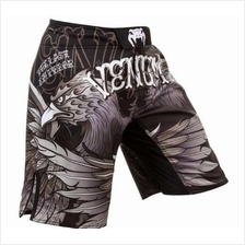 Venum UFC MMA Black Bird short Pant (Gym Fitness Sport SELUAR)