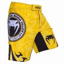 Venum UFC MMA Yellow V2 short Pant (Gym Fitness Sport SELUAR)