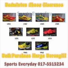 Badminton Shoes Kasut Clearance Promotion Bulk Borong Wholesale