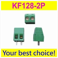 Pack of 10 KF128-2P 2-Pin Plug-in Terminal Block Connector 5.08mm