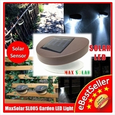 Solar Powered LED Yard Outdoor Landscape Garden Wall Deck Fence Light