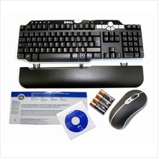 Genuine New DELL Bluetooth Multimedia Keyboard & Mouse Combo Set PU215