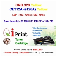 CANON CRG 329 LBP7010 LBP7018 YELLOW Toner Compatible * NEW Sealed *
