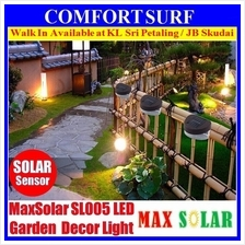 Solar Powered LED Yard Lawn Light Outdoor Landscape Garden Fence Light
