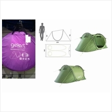 Gelert (UK import ) Tent camping For 2 (Khemah 2 orang)