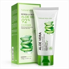 100ml BioAqua Aloe Vera Facial Foam Cleanser
