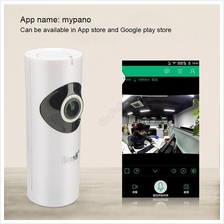Easy-N 720p Panoramic Fisheye Wifi P2P CCTV Audio Baby Camera Monitor