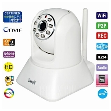 Easy-N 1080P Full HD P2P WiFi IP Camera CCTV IR Night Vision SD Slot