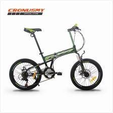 [Cronus.my] Gammax 20' Folding Bike Shimano 21 Speed GM200111-BC