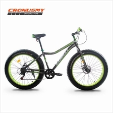 [CRONUS.MY] New Batch Gammax 26' Fat Bike Shimano 7 Speed A1526561-BC