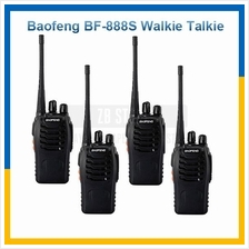 4 Pcs BaoFeng BF-888S 16 Channel BF888S Walkie Talkie Radio UHF 5W 3KM