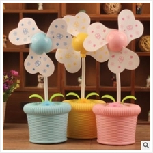New Flower Pot USB Humidifier Fan