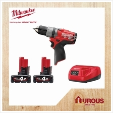 Milwaukee M12 CDD-402C FUEL 2 speed Battery Drill W/ LED Lantern Light LL-0EME