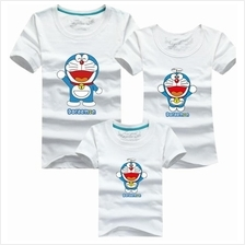 Family T Shirt Set (Doraemon Adult Couple Men Women / Kids Boy Girl)