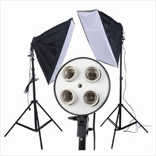 Lighting Studio Kit Light stand & Soft Box 50x70cm 1 SET 2pcs