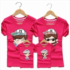 Family T Shirt Set Man + Woman (520 Couple / Kids Boy Girl)