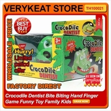 Crocodile Dentist Bite Biting Hand Finger Game Funny Toy Family Kids