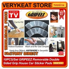 5PCS/10PCS GRIPEEZ Removable Double Sided Grip House Car Sticker Pads