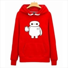 MEN WOMEN SWEATER & HOODIE Big White Hero Drawstring Hood Sweat Shirt