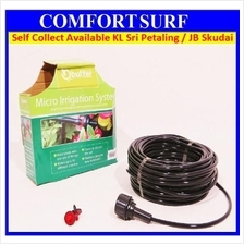 23m Self Watering Micro Drip Irrigation System Garden Hose Kits for Po
