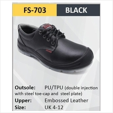 Hercules Safety Shoes Cow Leather Steel Shoes Boot Shoes SKU-703