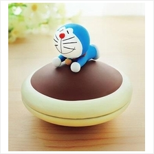 Mini Doraemon Dorayaki Organizer Ring Jewellery Coin Storage Gift Box