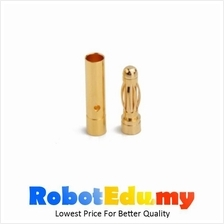 Electronic Component - Banana Plug Connector 3.5mm (Male + Female) *