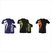 UFC MMA Venum Multi COlor  (SLim Fit Elastic shirt baju) (Brazil Impor
