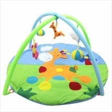 Baby Activity Gym Travel Soft Play Mat Hand Eye Brain Development