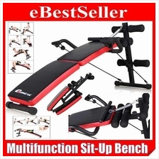 Multifunction Foldable Gym Fitness Sit Up Bench Chair Ultimate Version