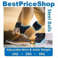 Adjustable & Invisible Ankle & Wrist Weight Boxing Basketball Jogging