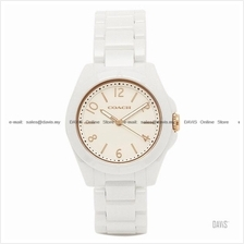 COACH 14501963 Women's Tristen Ceramic Bracelet White