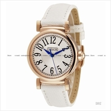 COACH 14501730 Women's Madison Classic Leather Strap White