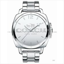 COACH 14502165 Women's Boyfriend Mirror Face SS Bracelet Silver