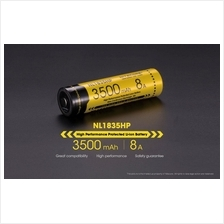 Nitecore 18650 Li-ion 3500mAh 8A Rechargeable Battery (NL1835HP)