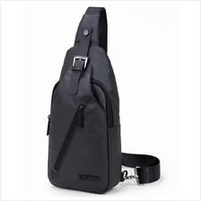 Men High Quality Oxford Waterproof Sling Chest Shoulder Bag Backpack