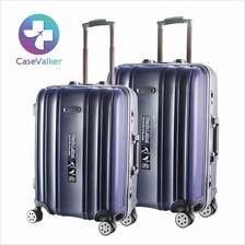 Case Valker Zipper-Less ALU-Frame Collection Luggage Bag 22'/ 26' inch