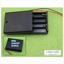 4 Cell AAA Battery Holder With ON/OFF Switch