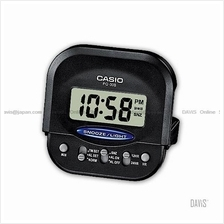 CASIO PQ-30B-1 digital clock wake up timer daily alarm snooze black