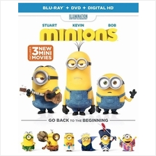 Minions (Blu-ray + DVD + DIGITAL HD) Region A/1